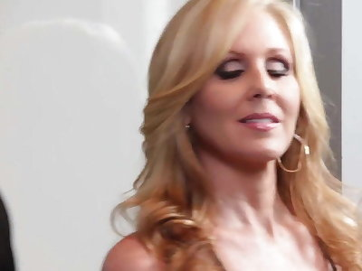 Julia Ann loves black monster cock