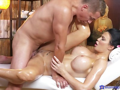 Crazy pornstars Jasmine Jae, Steve in Incredible Massage, Big Ass xxx scene