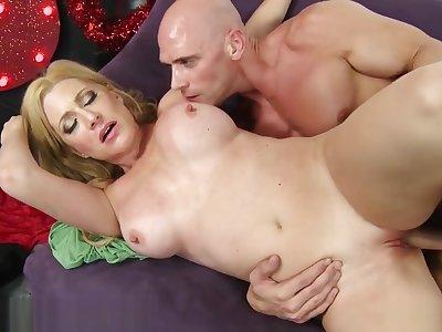 Hottest porn clip Blonde look forward uncut