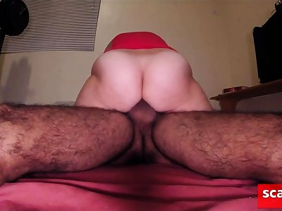 Hairy amateur MILF girl fucking experienced pleasure