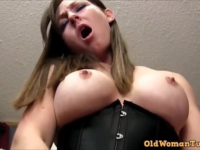 POV PORN Mature Rides You Till You Ejaculant In Her