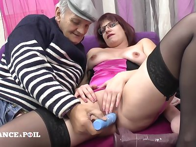 La France A Poil - The Real Chubby Redhead French Maid