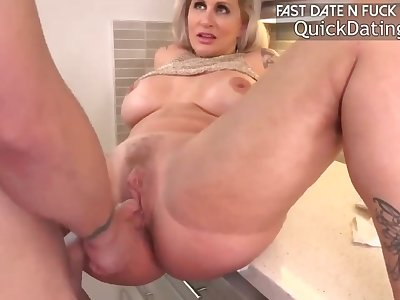 StepMother Helping stepSon Can Sex