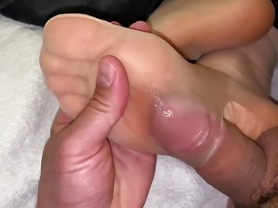 Spitting His Cum On My Soles .pantyhose Footjob (by Jossie Fox)