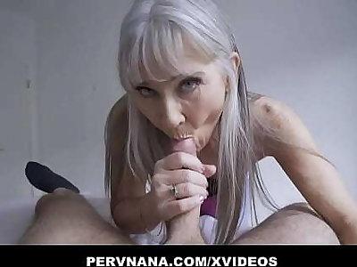 Perv Granny Leilani Lei Gives A Surprising Reward