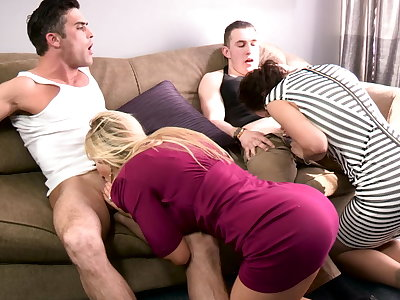 Family playdate - concurrent taboo family