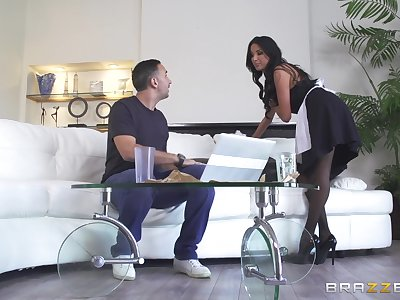 Hot maid Anissa Kate is good be proper of much more than surface-active agent